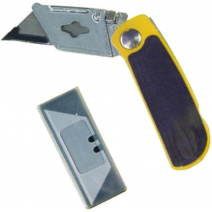 Utility Kinfe Folding Lock  5 Spare Blades wholesale