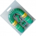 Garden Hose 15M Coiled W/Fittings