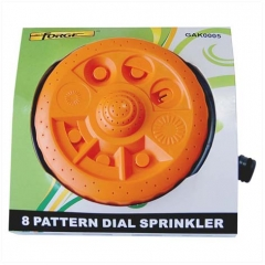 Dial Sprinkler ABS 8 Pattern wholesale