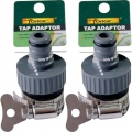 Tap Adaptor With Hose Clamp