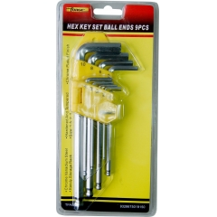 Hex Key Set Ball Ends 9Pcs wholesale