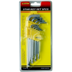 Star Key Set9PCS wholesale