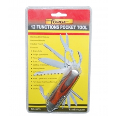 12 Functions Tools S/S With Poly Pouch wholesale