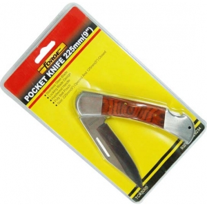 Poacket Knife 235mm S/S With Poly Pouch wholesale