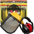 FORGE® Handyman Mesh Visor & Ear Muff Set