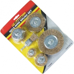 6Pcs Wire Brush Set suppliers china