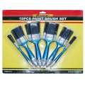 FORGE® PP Grip Handle Synthetic Bristle Paint Brush Set