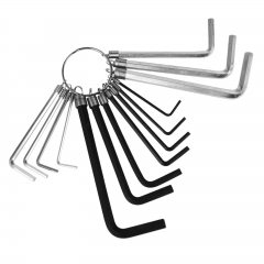 Hex Key Set 17pcs Met. & Imp. wholesale