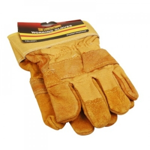 FORGE® Leather Jointed Palm Working Gloves supplies