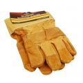 FORGE® Leather Jointed Palm Working Gloves