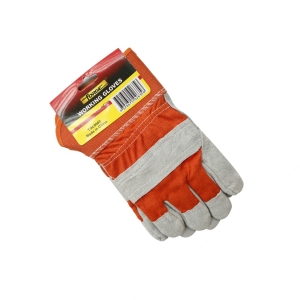 FORGE® Leather Whole Palm Working Gloves supplies