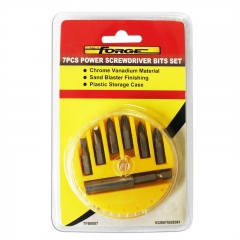 FORGE® 7pcs Set  Power Screwdriver Bits wholesale