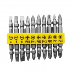 FORGE® 10PCS Power Csrewdriver Bits Set wholesale
