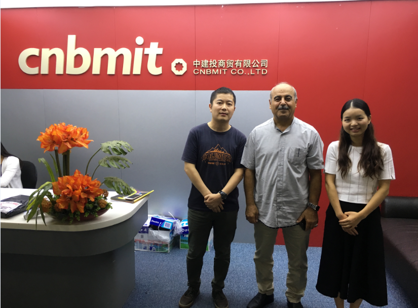 Iran clients vist our head office in Shenzhen